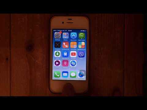 Turn off Voice Control on iPhone 4S (running iOS 9)
