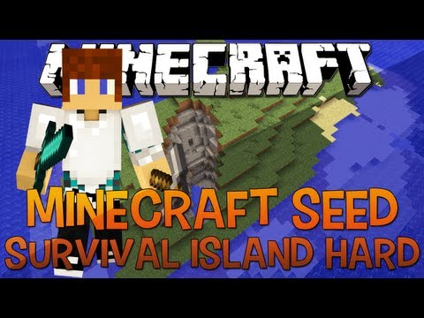 Minecraft Seed 1.5.2 - Survival Island MEGA Hardcore