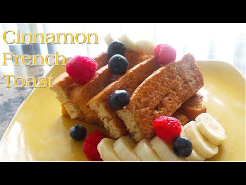 Cinnamon French Toast | [No Eggs] | Vegan | Korenn Rachelle