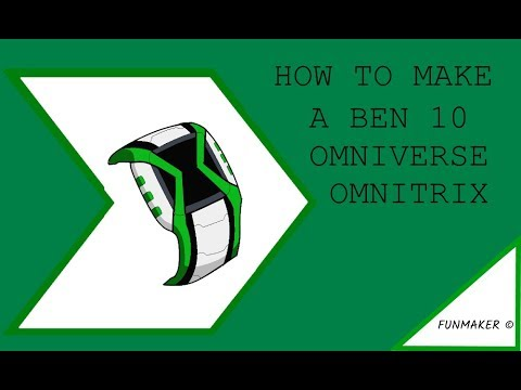 HOW TO MAKE A BEN 10 OMNIVERSE OMNITRIX INSPIRED BY OUTFLEX :P