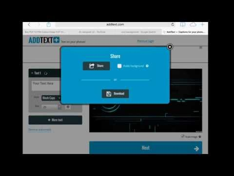 How to create profile picture on youtube on iOS easy 2015