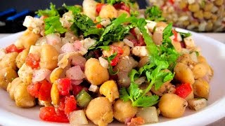 Chickpea Salad Recipe In Hindi By Sameer Goyal - चना सलाद रेसिपी @ jaipurthepinkcity.com