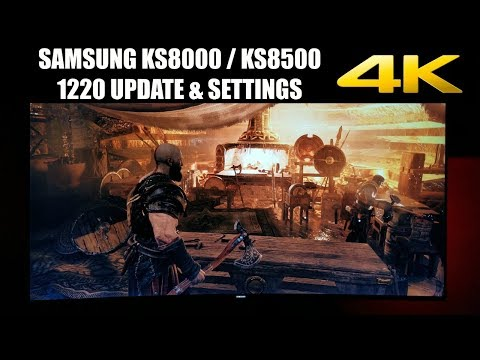 Samsung KS8500 1220 update and Game settings