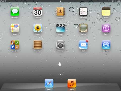 Apple iPad Always Show the Bookmarks Bar