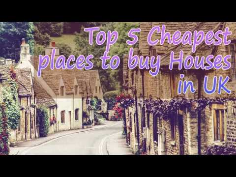 Cheapest Places to buy Houses in UK   Top 5