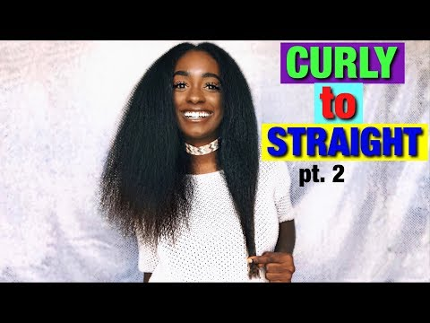 CURLY to STRAIGHT pt. 2 | alexuscrown