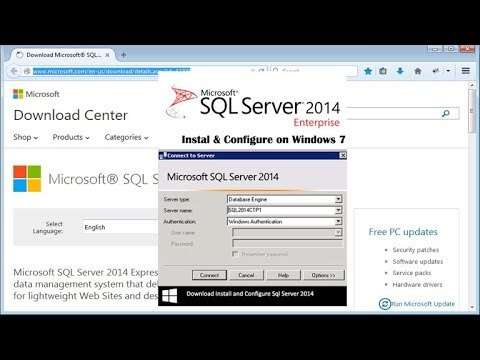 Install and Configure Sql Server 2014 on Windows 7 Part-5