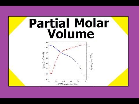 Partial Molar Volume