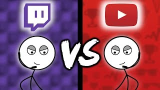 Twitch Gamers VS YouTube Gamers