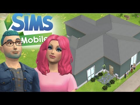 The Sims Mobile - House Speed Build/Remodel - Jake & Ella - iOS