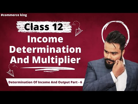 #65, Income determination and equilibrium/Short run equilibrium(Class 12 macroeconomics)