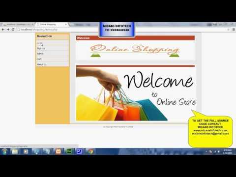 Online Textile Shop - PHP