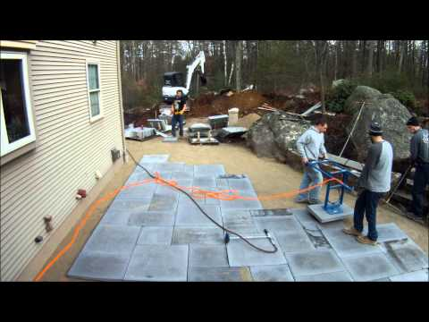 Best Way To Lay Large Paving Slabs