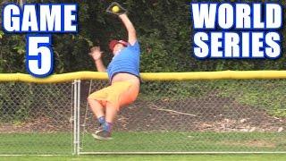 WORLD SERIES GAME 5!   On-Season Softball Series