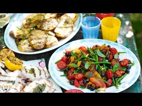 Italian bean and olive salad