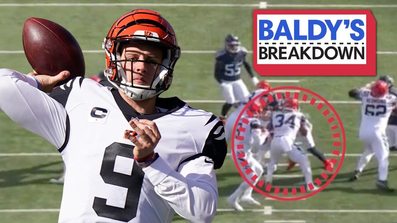 Breaking Down Joe Burrow's Top Throws vs Tennessee Titans | Baldy Breakdowns