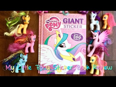 My Little Pony Sticker Book with 500 stickers!!!