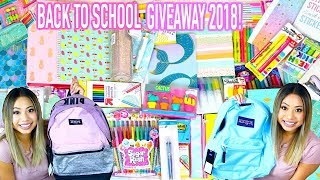 HUGE Back to School Giveaway 2018 !! (3 WINNERS)