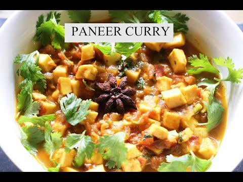 Paneer Curry in Instant pot || Indian Vegetarian Recipes || Simple Paneer Curry