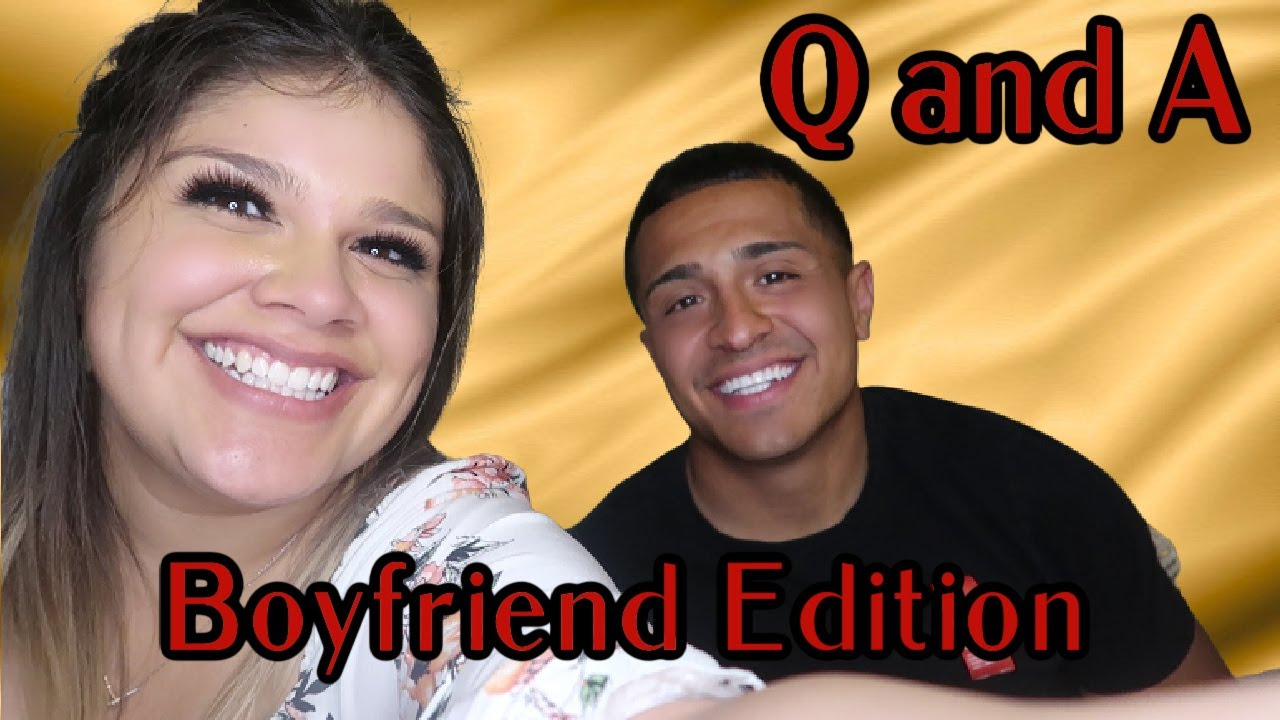 Q and A Boyfriend Edition | Opening Up About His Rough Past
