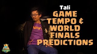 Tali Talks About Game Tempo and World Finals Predictions - CCGS World Finals Interview