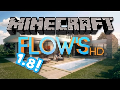 FLOW'S HD working for Minecraft 1.8 - September 2014 Install [PC/MAC]