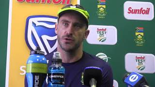 Proteas v Bangladesh 2nd Test - Faf du Plessis