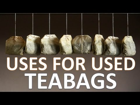 Unbelievable Uses For Used Tea bags