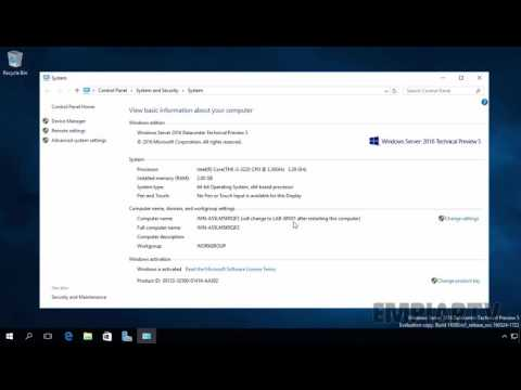 How To Change Computer Name in Windows Server 2016