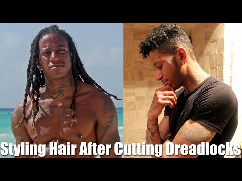 Shaping A Haircut After Dreadlocks | Cutting After Combing Out Dreads Without Cutting