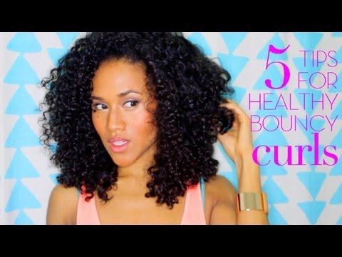 5 Tips for Healthy Curly Hair from Dry & Damaged