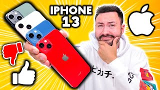 Les Raisons de ne pas acheter un iPhone 13 ! (et comparaison iPhone 12)
