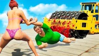 GTA 5 FAILS - #25 (GTA 5 Funny Moments Compilation)