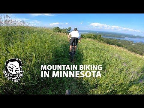 Mountain Biking in Duluth Minnesota was surprisingly great
