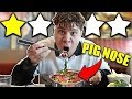 Eating At The Worst Reviewed Chinese Restaurant In My City 1 STAR
