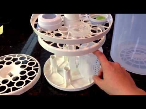 How to use The First Years steam sterilizer *watch for valuable tips!*