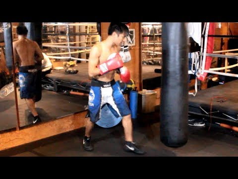 Boxing Footwork Drills for Heavy Bag