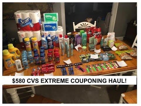 $580 CVS Extreme Couponing Haul Week of 2/4 (SUPERBOWL SUNDAY!)