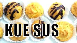 Resep Kue Sus Lembut dan Lezat - Profiterole (Cream Puff) Recipe