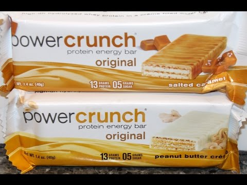 Power Crunch Protein Energy Bar: Salted Caramel & Peanut Butter Crème Review