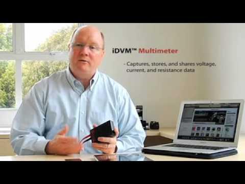 Digital Multimeter Voltmeter iPhone Application  iDVM Voltmeters