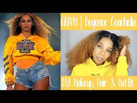 Beyonce Coachella 3 in 1 GRWM | Makeup, Hair & Outfit