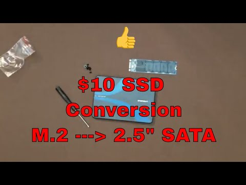 Convert your unused M.2 into a internal SATA SSD in 3 Minutes with Benckmarks