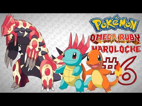 Pokemon Rubí Omega Hardlocke (Ep 6) | SQUIRTLE Y CHARMANDER EN EL MISMO COMBATE