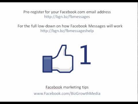 Facebook Email - How to change your name and set your profile username