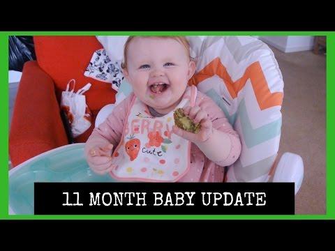 11 MONTH BABY UPDATE || COLDS, ECZEMA & CHICKEN POX