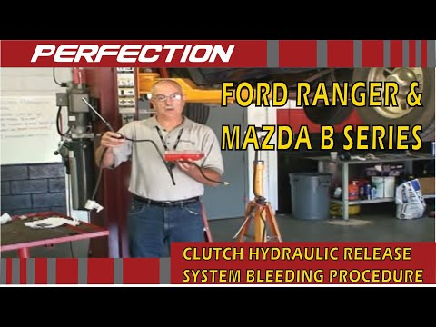 Ford Ranger & Mazda B-Series Pickup Clutch Hydraulic Release System Bleeding Procedure Part 2