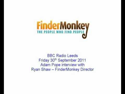 Finding Lost Relatives with FinderMonkey - BBC Radio Leeds Interview