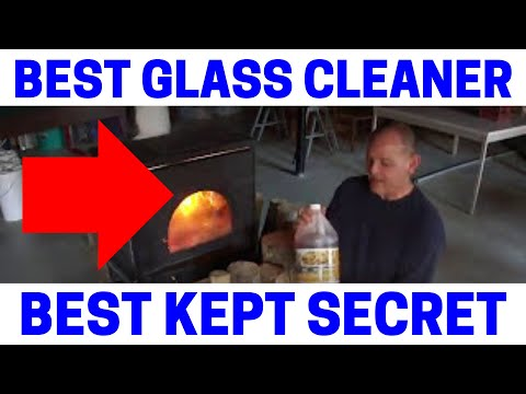 (Part 1) Wood Stove Tips & Tricks - The Best Glass Cleaner