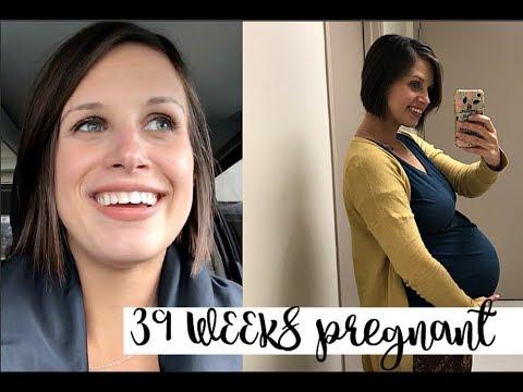 39 WEEK PREGNANCY UPDATE! HORMONES & NESTING!